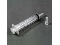 Image Of Cath Tip Syringe, 60cc, Flat Top In I.v. Pole Bag