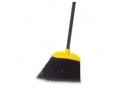 Image Of Broom Rubbermaid Angled Black