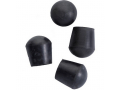 Image Of Replacement Rubber Tips For quad Seat Canes One Pair Per Bag