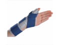 Image Of Thumb Splint ThumbSPICA Thumb Spica Foam / Cotton-Terry Right Hand Blue / Gray Small / Medium