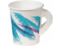 Image Of Drinking Cup Solo 6 oz Jazz Print Paper Disposable