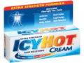 Image Of Topical Pain Relief Icy Hot 30% - 10% Strength Menthol / Methyl Salicylate Cream 3 oz