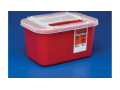 Image Of Devon Gatorguard In-patient 2 Gallon Red Sharps,12