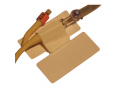 Image Of Multi-Purpose Adhesive Tube Holder with Quick Release Non-Slip Velcro Tab Locking System