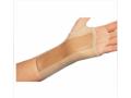 Image Of Wrist Splint PROCARE Cotton / Elastic Right Hand Beige Small