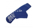Image Of Single Tread Patient Safety Footwear with Terrycloth Interior, Medium, Blue