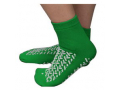 Image Of Double Tread Patient Safety Footwear with Terrycloth Exterior, 2X-Large, Green