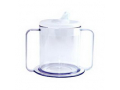 Image Of PSC Independence Mug with 2-Handle and Lid, 9 oz.
