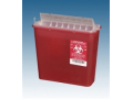Image Of CONTAINER, SHARPS, 5 QT, CLR, COUNTRBAL LID