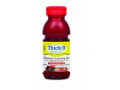 Image Of Thickened Beverage Thick-It AquaCareH2O 8 oz Bottle Cranberry Flavor Ready to Use Honey Consistency