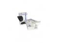 Image Of Trash Bag Heritage Heavy Duty 60 gal Black LLDPE 070 Mil 38 X 58 Inch Twist Tie Flat Pack