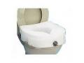 Image Of E-Z Locked Raised Toilet Seat, Weight Capacity 300