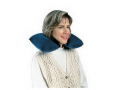 Image Of Inflatable Neck Rest Pillow with Carrying Pouch