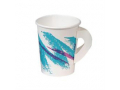 Image Of Drinking Cup Solo 8 oz Jazz Print Polyethylene Coated Paper Disposable