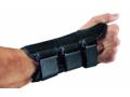 Image Of Wrist Splint PROCARE ComfortFORM Aluminum Stay Foam / Lycra Left Hand Black X-Small