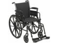Image Of Lightweight Wheelchair Cruiser III Dual Axle Desk Length Arm Flip Back Padded Removable Arm Style Mag Wheel Black 20 Inch Seat Width 350 lbs Weight Capacity