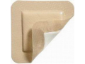 "Image Of MediPlus-Comfort Foam Border Ag Island Sacral Dressing, 8.7"" x 8.7"", Pad Size 5.0"" x 5.7"""