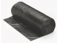 Image Of Trash Bag Colonial Bag XX Heavy Duty 60 gal Black HDPE 22 Mic 38 X 58 Inch X-Seal Bottom Twist Tie Coreless Roll