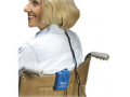 Image Of Wheel Chair Economy Alarm with Spring-Loaded Clip, Blue