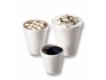 Image Of Drinking Cup Dart 6 oz White Styrofoam Disposable
