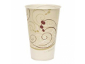 Image Of Drinking Cup Solo 12 oz Symphony Print Wax Coated Paper Disposable