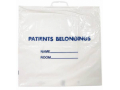Image Of Patient Belongings Bag 185 X 20 Inch Polyethylene Snap Closure White