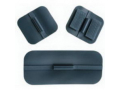 "Image Of Specialty Carbon Rubber Electrode 1-3/4""x 4"" Rectangle"
