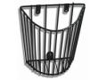 Image Of Cuff Storage Basket Vinyl Coated Wire 952B Sphygmomanometer Wall Unit