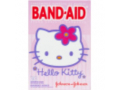 Image Of Adhesive Strip Band-Aid Plastic Assorted Colors Sizes Kid Design Hello Kitty Sterile