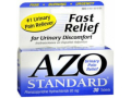 Image Of Urinary Pain Relief AZO 95 mg Strength Phenazopyridine HCL Tablet 30 per Bottle