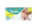 Image Of Baby Diaper Pampers Swaddlers Tab Closure X-Small Disposable Heavy Absorbency