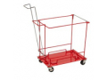 Image Of SharpSafety Sharps Container Floor Cart With Wheels