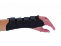 Image Of Wrist Splint PROCARE Suede / Cotton Left Hand Black Small