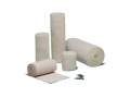 Image Of Elastic Bandage Econo-Wrap LF 2 Inch X 4-1/2 Yard Standard Compression Clip Detached Closure Tan NonSterile