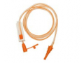 Image Of Enteral Only Extension Set NeoMed 48 Inch Orange Male/Female Large Bore PVC