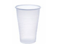 Image Of Drinking Cup Galaxy 16 oz Translucent Plastic Disposable