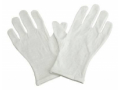 Image Of Infection Control Glove Grafco Small / Medium Cotton White NonBeaded Cuff NonSterile