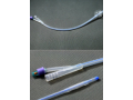 Image Of Foley Catheter AMSure 2-Way Standard Tip 5 cc Balloon 14 Fr Silicone