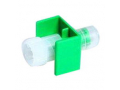 Image Of Fluid Dispensing Connector, Green