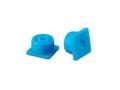 Image Of Multi-Ad Luer Lock Syringe Cap, Blue