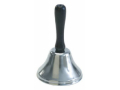Image Of Call Bell Handle Held Wooden Handle / Steel Bell 4 Inch