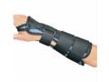 Image Of Wrist Splint PROCARE Foam / Tricot Left Hand Gray Large
