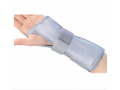 Image Of Wrist / Forearm Splint Cinch-Lock Nylon / Flannelette Right Hand Blue One Size Fits Most