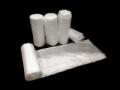 Image Of Trash Bag Colonial Bag Extra Heavy Duty 56 gal Clear HDPE 17 Mic 43 X 48 Inch X-Seal Bottom Twist Tie Coreless Roll