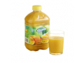 Image Of Thickened Beverage Thick & Easy 46 oz Bottle Orange Juice Flavor Ready to Use Honey Consistency