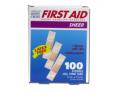 Image Of Adhesive Strip Stat Strip 3/8 X 1-1/2 Inch Plastic Rectangle Tan Sterile