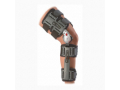 Image Of Knee Brace X-Act ROM One Size Fits Most Hook and Loop Closure Adjustable Length Left or Right Knee