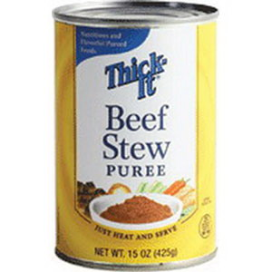 Image Of Thick-It Beef Stew Puree 15 oz. Can