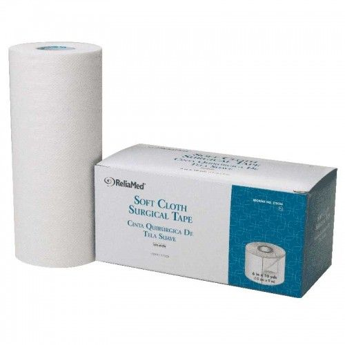 "Image Of 6"" X 10 Yds (120) Soft Cloth Surgical Tape"