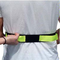 """Image Of SafetySure Economy Gait Belt with Hand Grips, 48"""""""